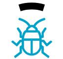 Icono de desinsectación y control de plagas