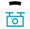 Icono de tecnología dron para el control de plagas