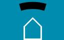 Icono de control de plagas de madera, como carcoma y termitas